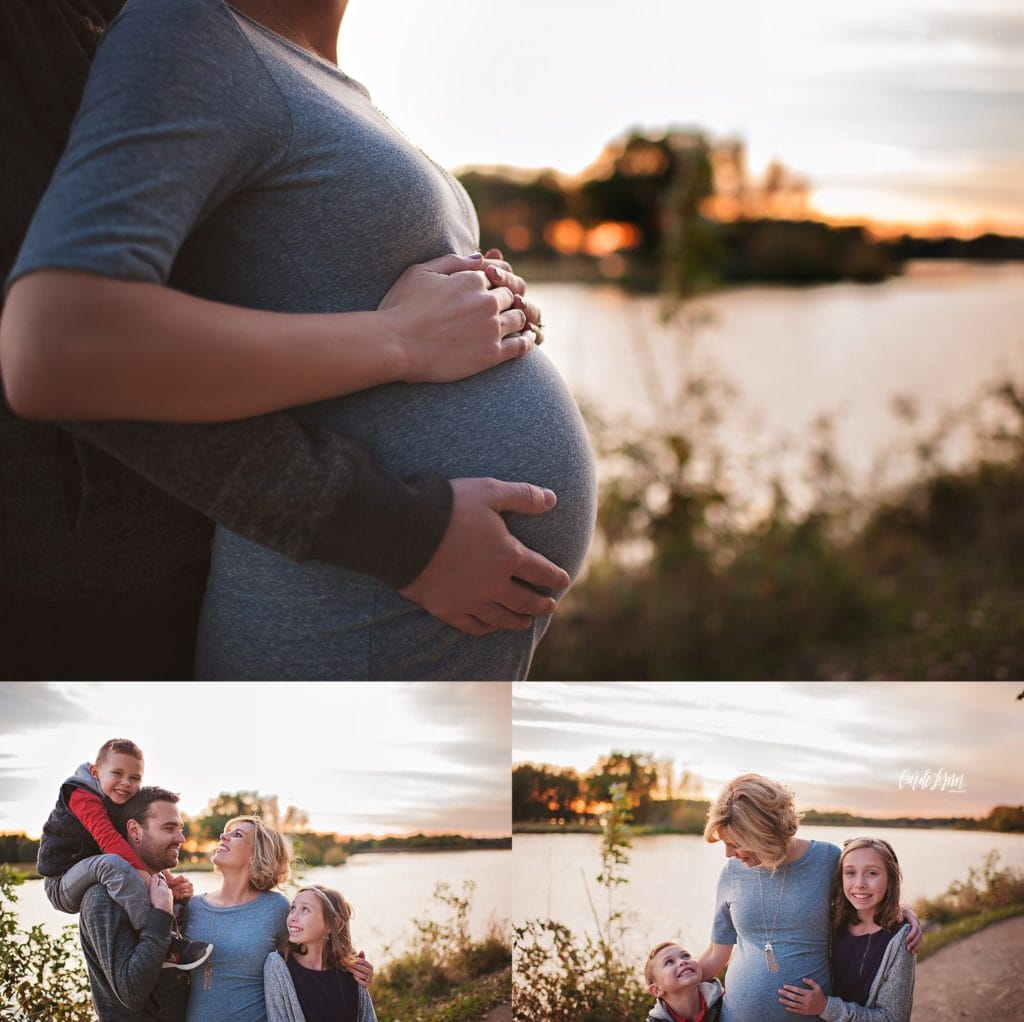 lake county maternity photographer